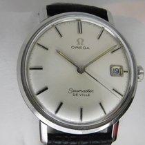 Omega Seamaster DeVille 136.020 136020 136.0020 De Ville manual winding with date Meget god Stål 34mm Manuelt