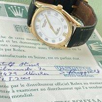 Rolex Cellini Danaos Gelbgold 34mm Weiß Arabisch Deutschland, mönchengladbach
