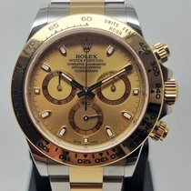 Rolex Daytona Or/Acier 40mm Champagne Sans chiffres France, LYON - Tassin La Demi Lune