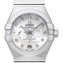 Omega Constellation Petite Seconde Staal 27mm Parelmoer