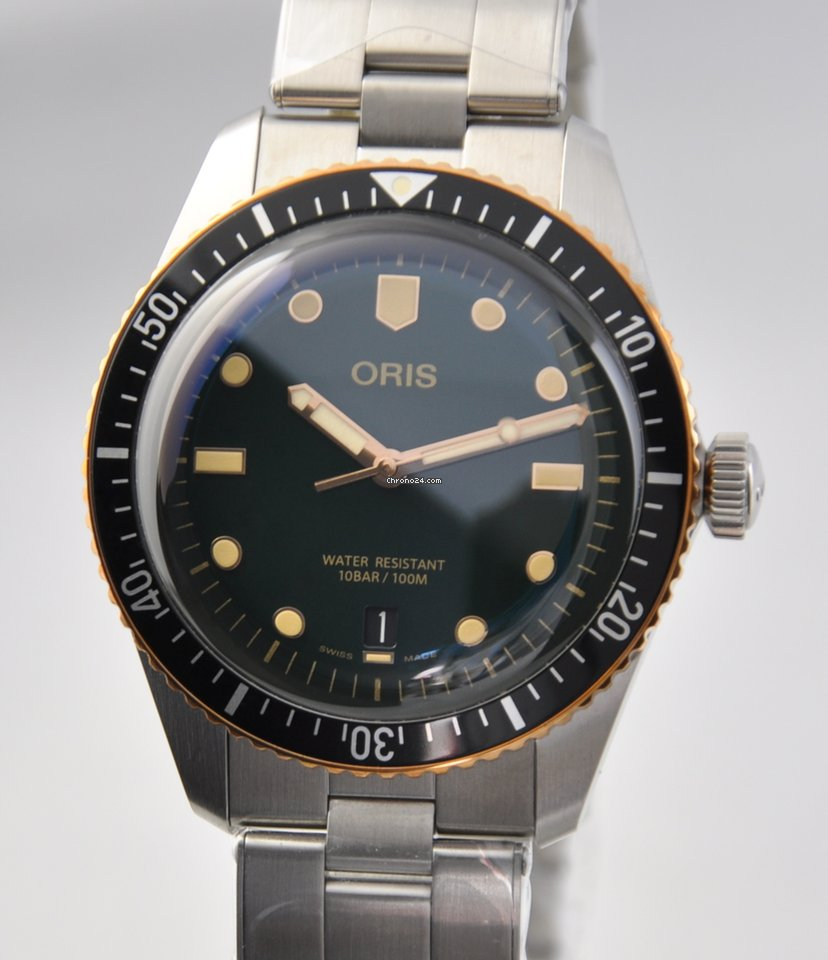Oris Divers Sixty Five 01 733 7707 4357-07 8 20 18 new