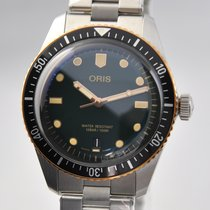 Oris Divers Sixty Five Steel 40mm Green No numerals United States of America, Ohio, Mason