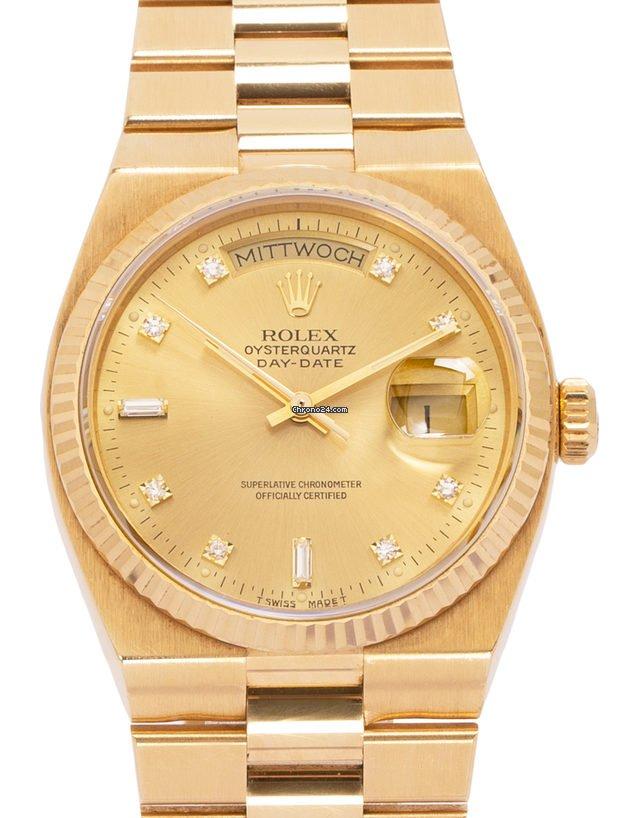 Rolex Day-Date Oysterquartz 19018 1991 tweedehands