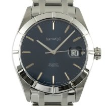 Eberhard & Co. Steel Automatic Blue 39mm pre-owned