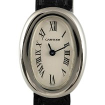 Cartier 2369 White gold 2000 Baignoire 24.5mm pre-owned
