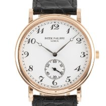 Patek Philippe Red gold Manual winding White 33mm pre-owned Calatrava