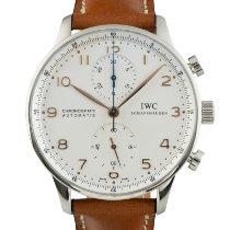 IWC Portuguese Chronograph Acier 40.5mm Argent