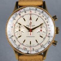 Breitling Chronomat Gold/Steel 37mm Silver No numerals United States of America, California, Healdsburg