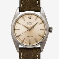 Rolex Oyster Precision Steel 34mm Silver United States of America, New Jersey, Garwood