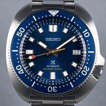 Seiko Prospex Steel 42.7mm Blue No numerals