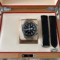 Omega Seamaster Planet Ocean Chronograph Acero Negro