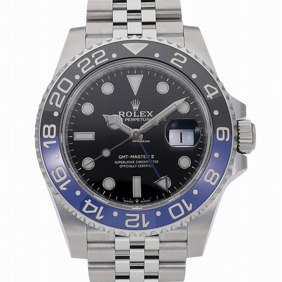 Rolex (ロレックス) GMT マスター II 126710BLNR 新品