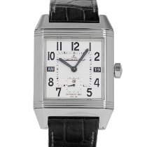Jaeger-LeCoultre Reverso Squadra Hometime Steel 34.5mm Silver Arabic numerals United States of America, Maryland, Baltimore, MD