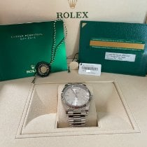 Rolex Day-Date 40 White gold 40mm No numerals United States of America, Texas, Stafford