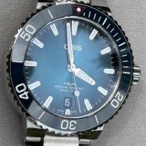 Oris Aquis Date Steel 39.5mm Blue No numerals United States of America, Colorado, Louisville