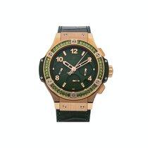 Hublot Big Bang Tutti Frutti Rose gold 41mm Green Arabic numerals United States of America, Pennsylvania, Bala Cynwyd