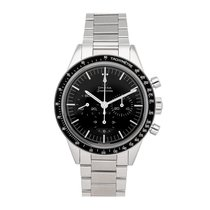 Omega Speedmaster Professional Moonwatch pre-owned 39mm Black Chronograph Tachymeter Fold clasp