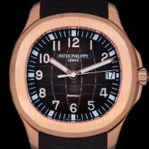 Patek Philippe Rose gold Automatic Brown Arabic numerals 40mm new Aquanaut