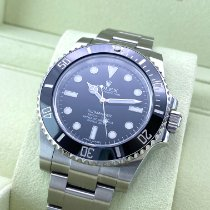 Rolex 114060 Steel 2014 Submariner (No Date) 40mm pre-owned