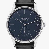 NOMOS Orion Neomatik Steel 40.5mm Blue No numerals