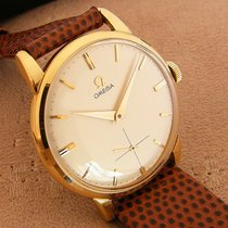Omega Yellow gold 33mm Manual winding Omega Cal 267 18K Gold pre-owned