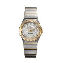 Omega Constellation Quartz 123.25.27.60.55.008 Very good Gold/Steel Quartz
