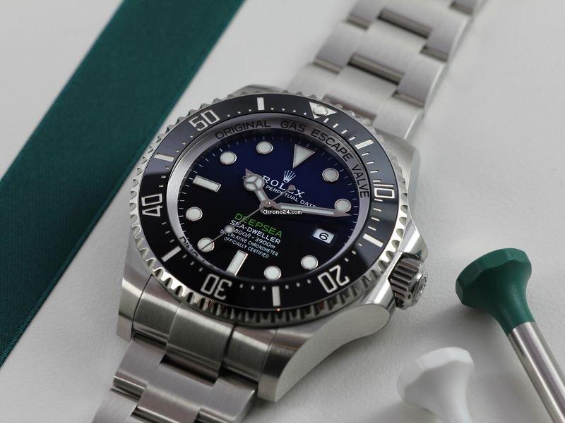 Rolex Sea-Dweller Deepsea 126660 Deepsea 2018 2020 new
