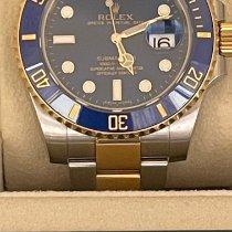 Rolex Submariner Date 116613LB Não usado Ouro/Aço 40mm Automático