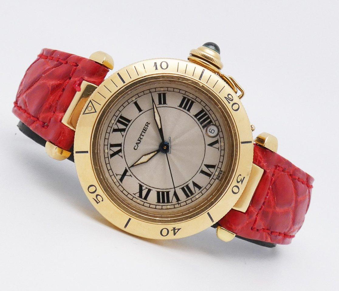 Cartier Pasha C 1035 2002 tweedehands