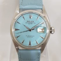Rolex Oyster Perpetual Date Steel 34mm Blue No numerals India, Mumbai