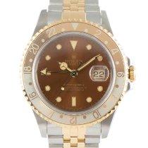 Rolex GMT-Master II Gold/Steel 40mm Brown