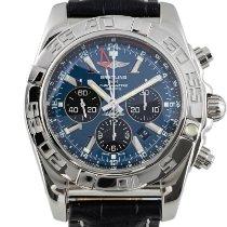 Breitling Chronomat GMT Acero 47mm Azul
