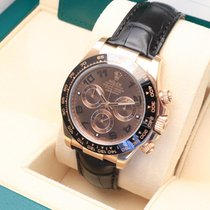 Rolex Red gold Automatic Brown 40mm pre-owned Daytona