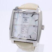 TAG Heuer Monaco Steel 37mm Mother of pearl
