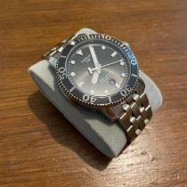 Tissot Seastar 1000 Сталь 43mm Черный Без цифр