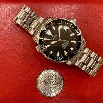 Omega Seamaster Diver 300 M Acero 41mm Negro Sin cifras