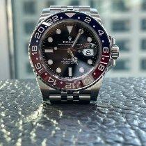 Rolex GMT-Master II Steel 40mm Black No numerals UAE, 9292