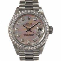 Rolex Platyna Automatyczny Różowy 26mm używany Lady-Datejust
