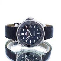 Omega Seamaster Diver 300 M Сталь 41mm Черный