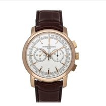 Vacheron Constantin Red gold Manual winding Silver No numerals 42mm new Patrimony