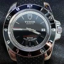 Tudor Grantour pre-owned 41mm Black Date Leather