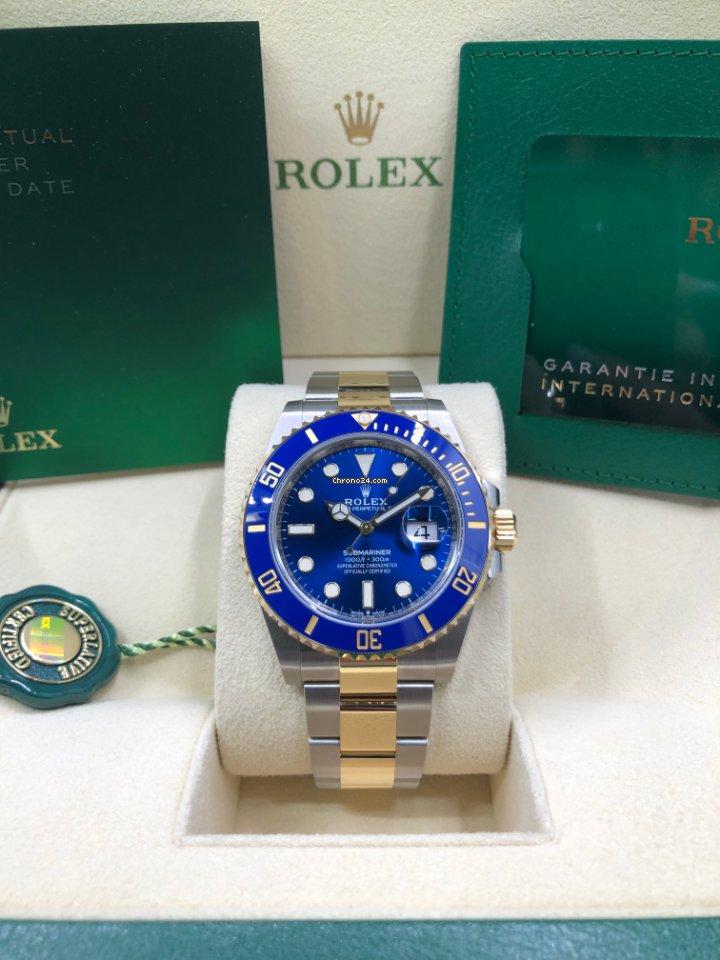 Rolex Submariner Date 126613lb 2021 new