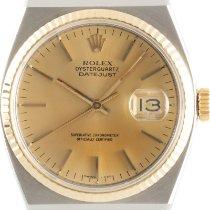 Rolex Datejust Oysterquartz Gold/Steel 38mm Gold