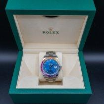 Rolex gebraucht Automatik 41mm Blau Saphirglas 10 ATM