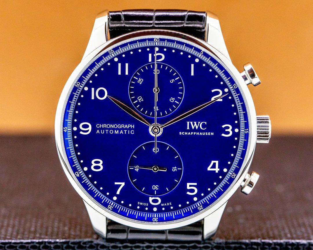 IWC葡萄牙语计时码表IW371601