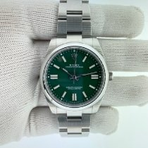 Rolex Oyster Perpetual Steel 41mm Green No numerals United States of America, Pennsylvania, Philadelphia