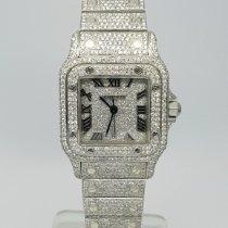 Cartier Santos Galbée new Quartz Watch with original papers 1564