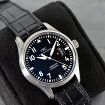 IWC Steel Automatic Black Arabic numerals 41mm new Pilot Mark