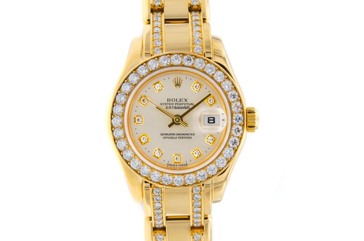 Rolex Lady-Datejust Pearlmaster 80298 2003 gebraucht