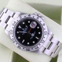 Rolex 16570 Stahl 2008 Explorer II 40mm gebraucht